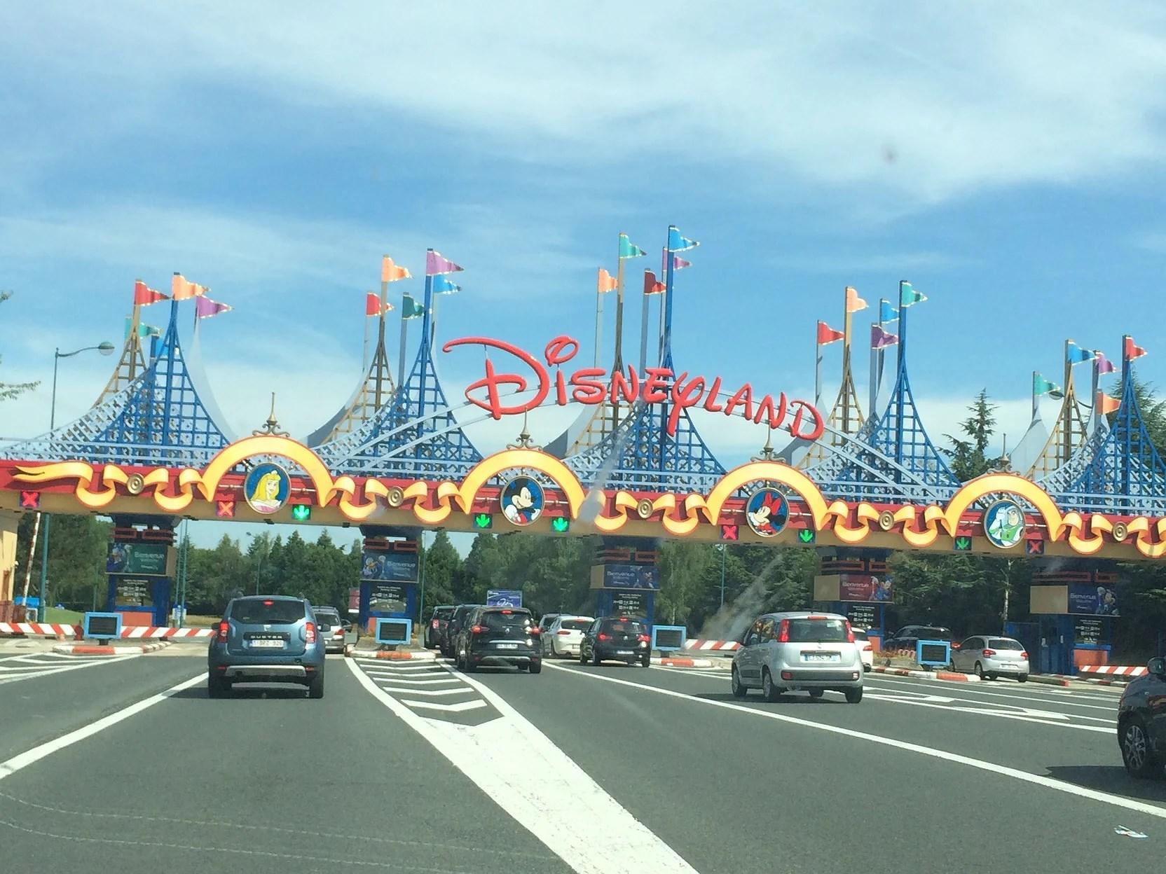 Jag är på plats på Disneyland Paris
