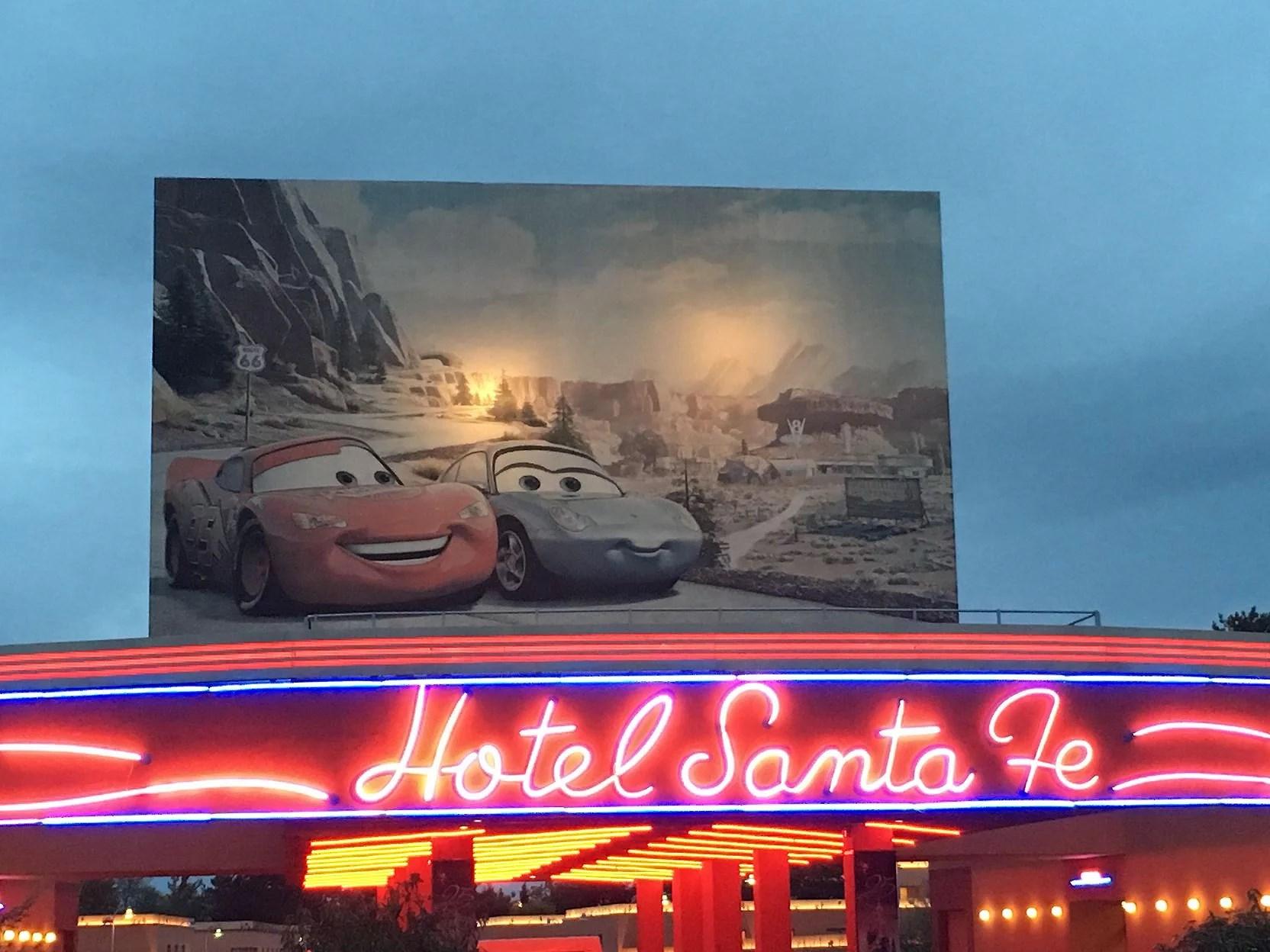 Hotell på Disneyland Paris: Disney's Hotel Santa Fe