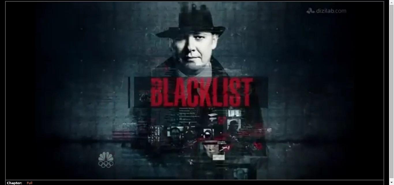 One to watch BLACKLIST
