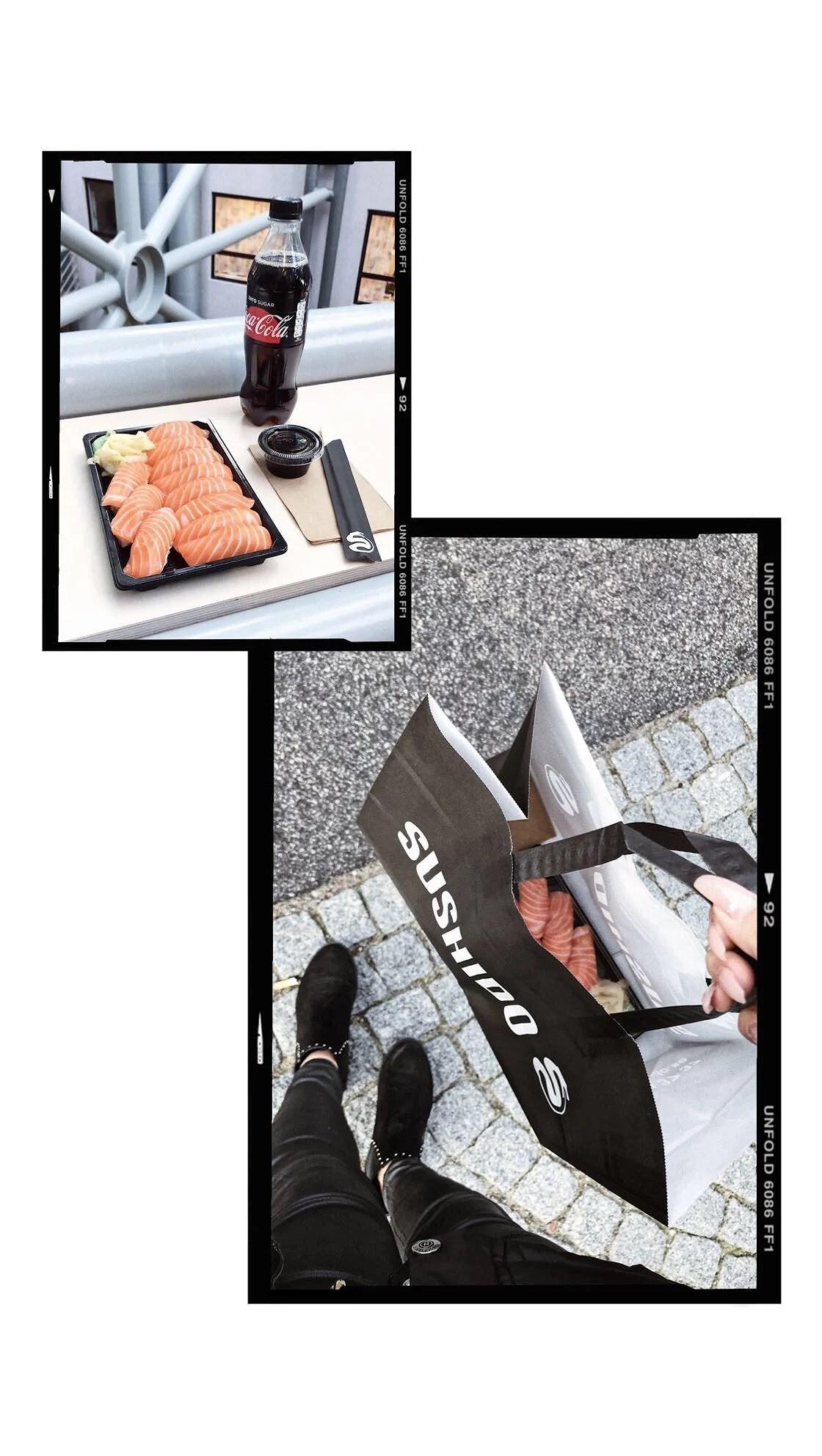 Sushi, plugg & Janni Delér