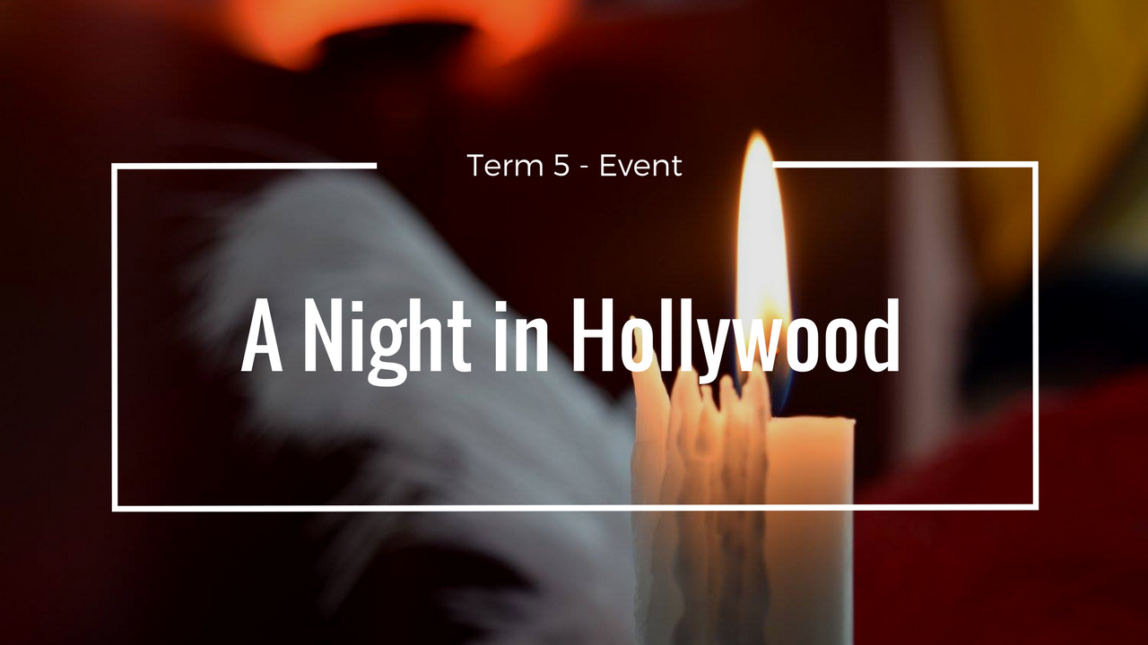 Term 5 event (A night in Hollywood) - Cesar Ritz Colleges Switzerland, Lucerne Campus