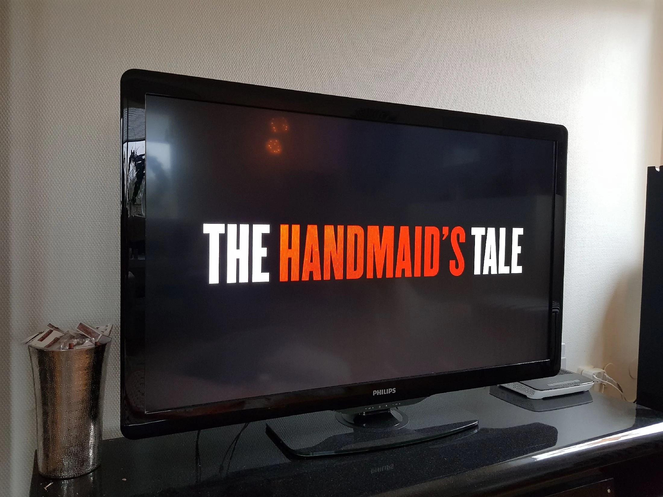 The Handmaids tail och pizza.