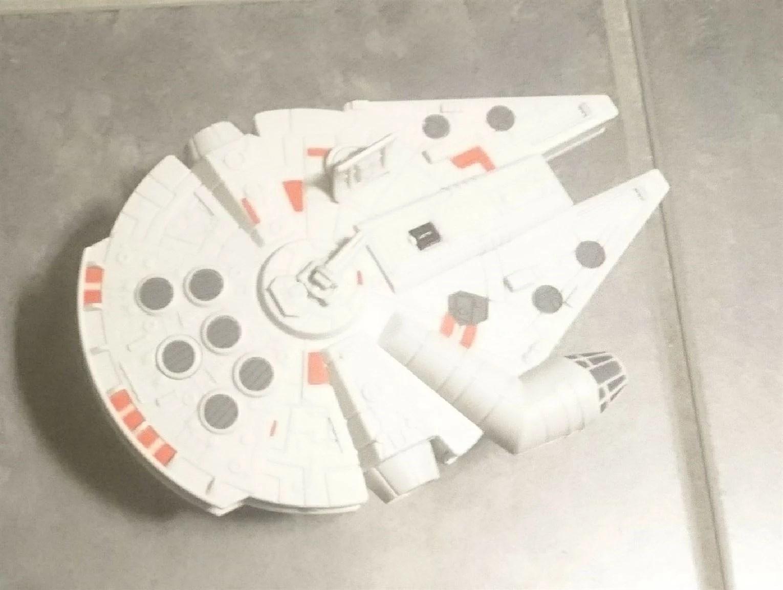 Ett radiostyrt rymdskepp på toaletten