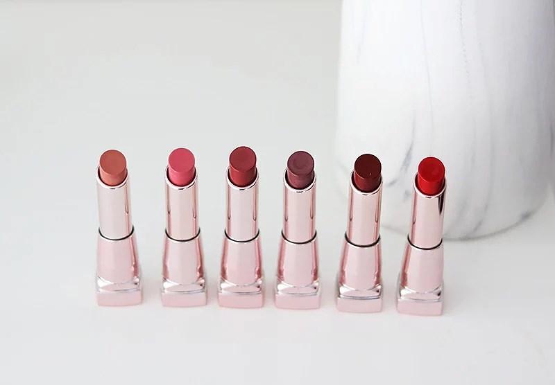 maybelline color sensational shine läppstift