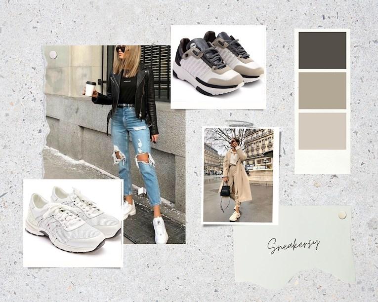 sneakersy, trendy, wiosna 2021