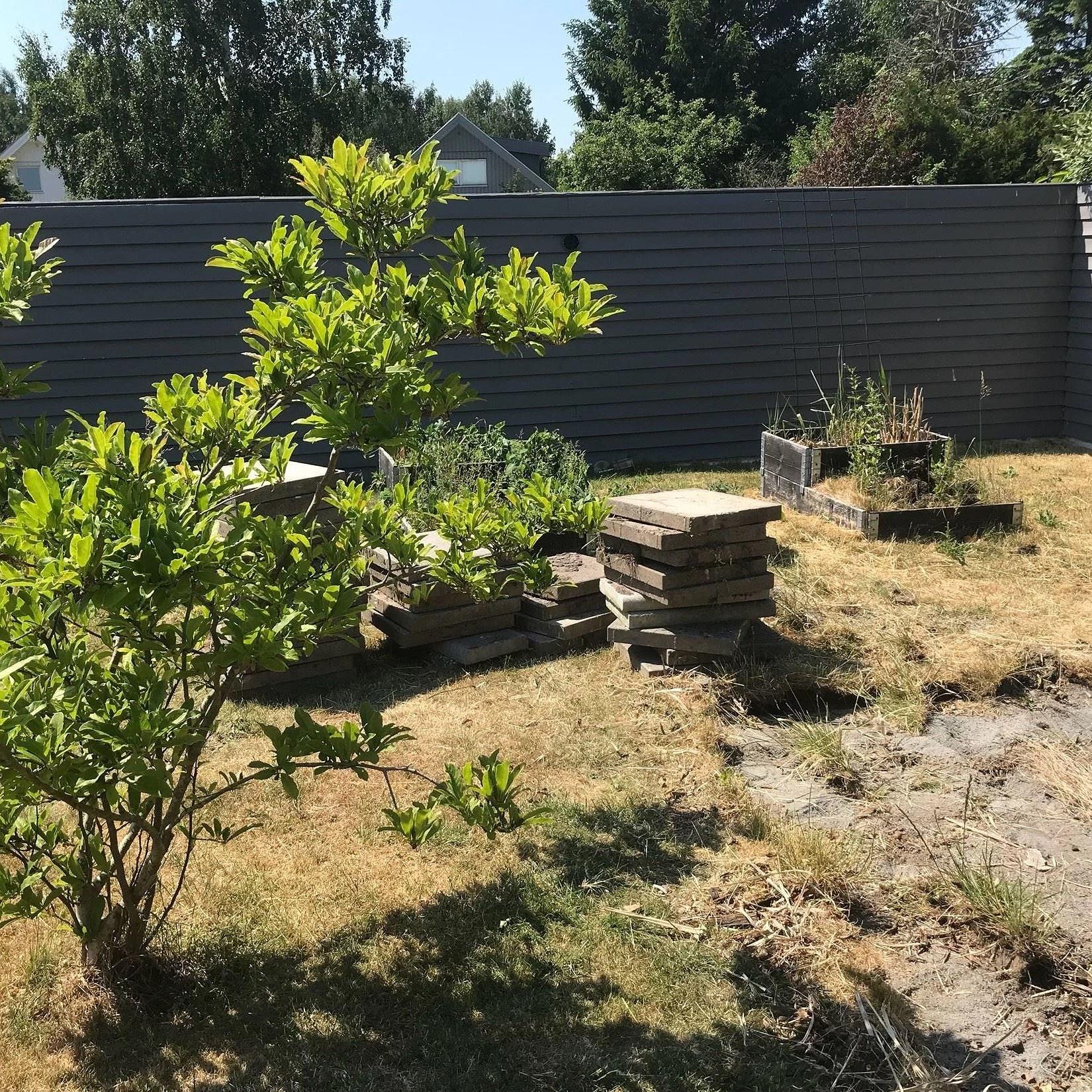 [lycka är] att ha ett färdigt trädäck