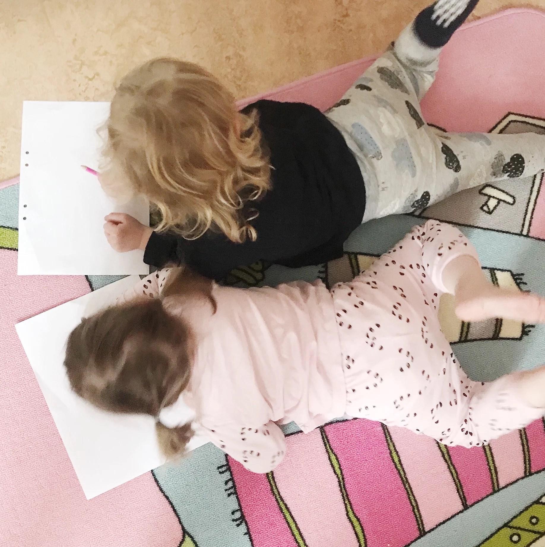 Playdate med bästa vännen