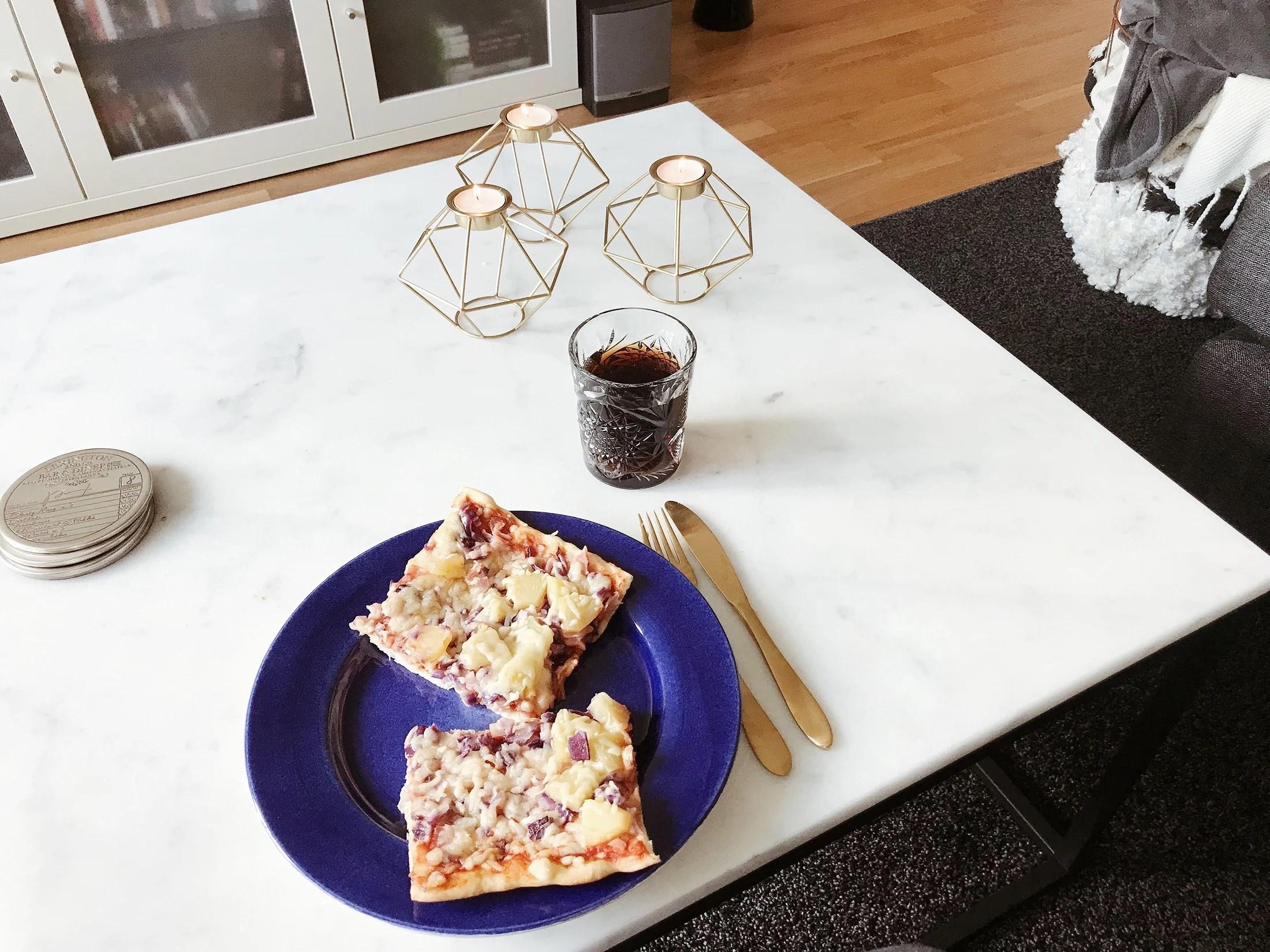 hemmagjord pizza, igen