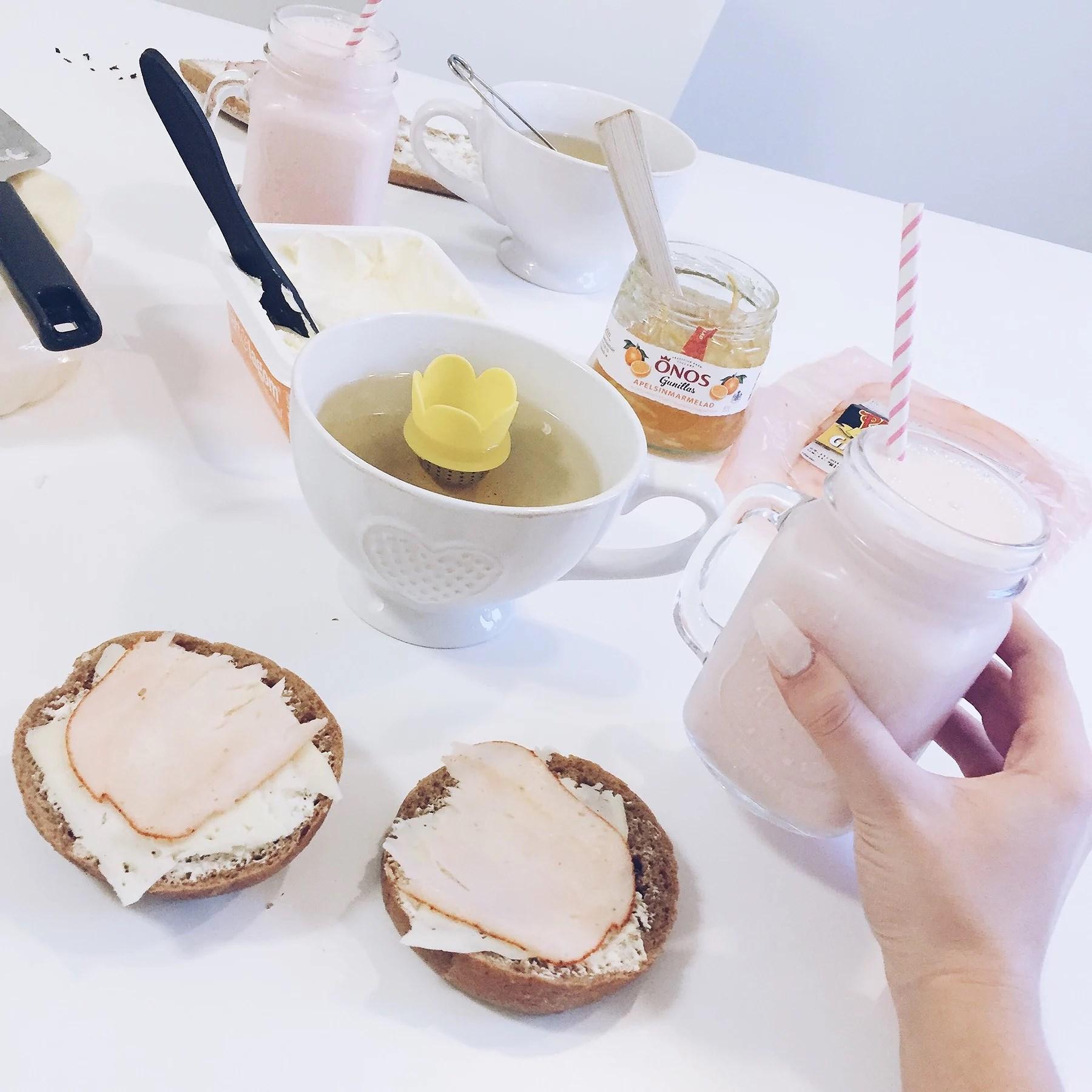 Frukost med mamma