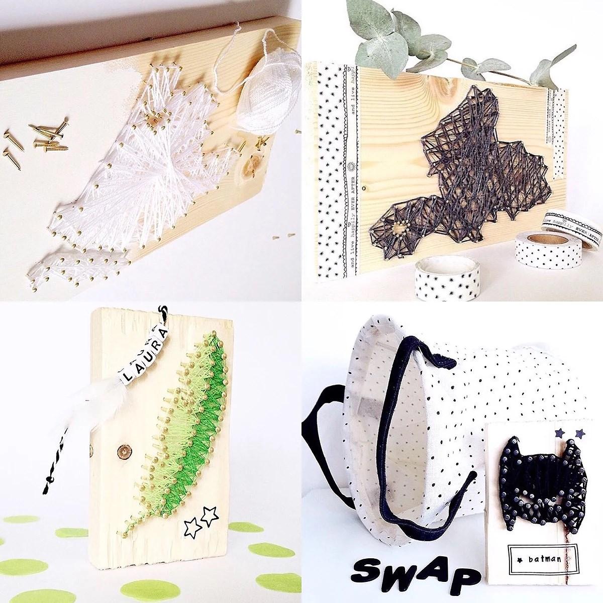 Toffe spijkerpatronen / string art DIY.