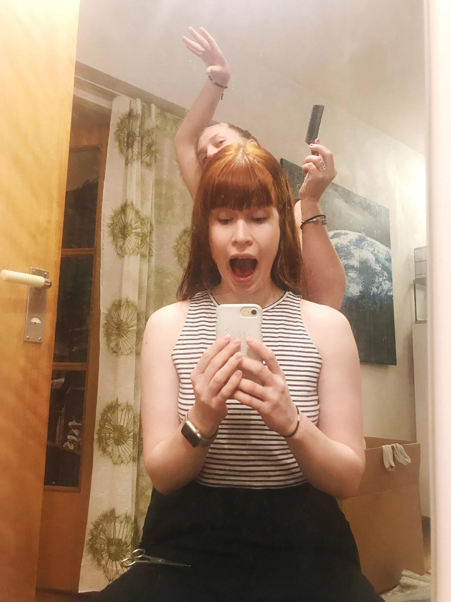 Jag har klippt mig