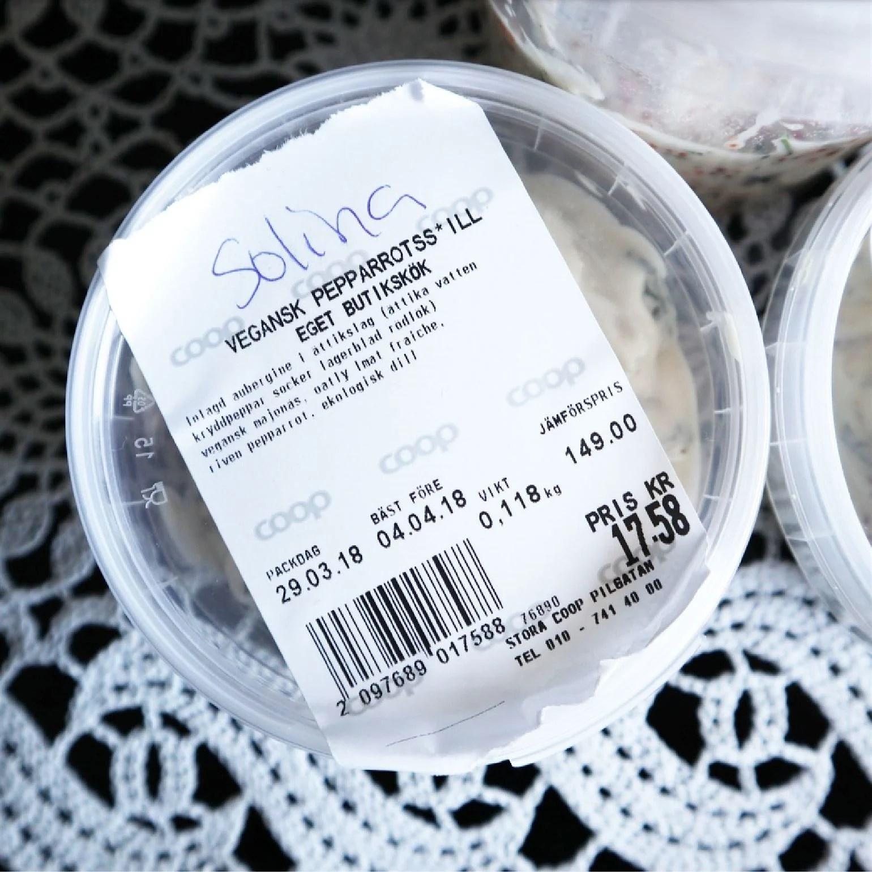 vegansk pepparrotssill coop