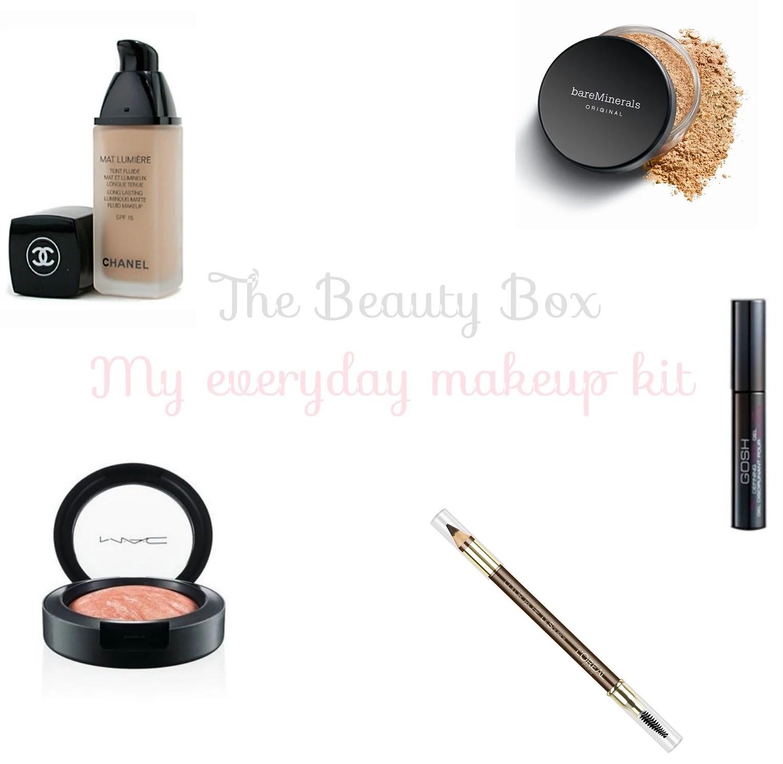 // My everyday makeup kit