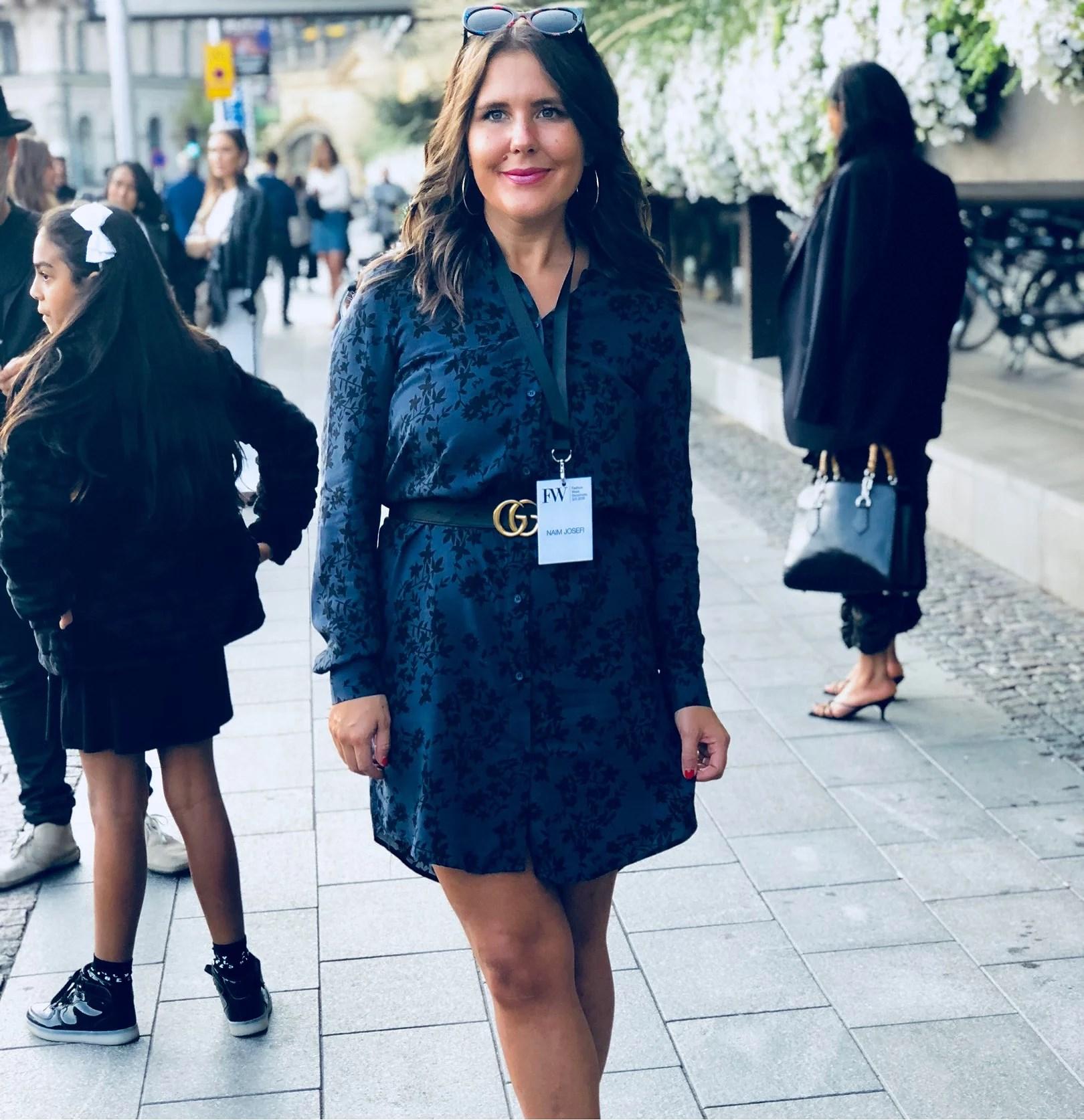 Fashion week dag två- Naim Josefi