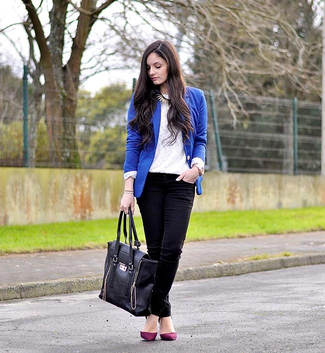 Blue Blazer...