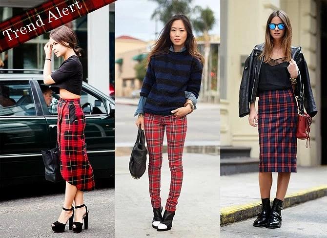 Trend Alert!! : Tartan Style