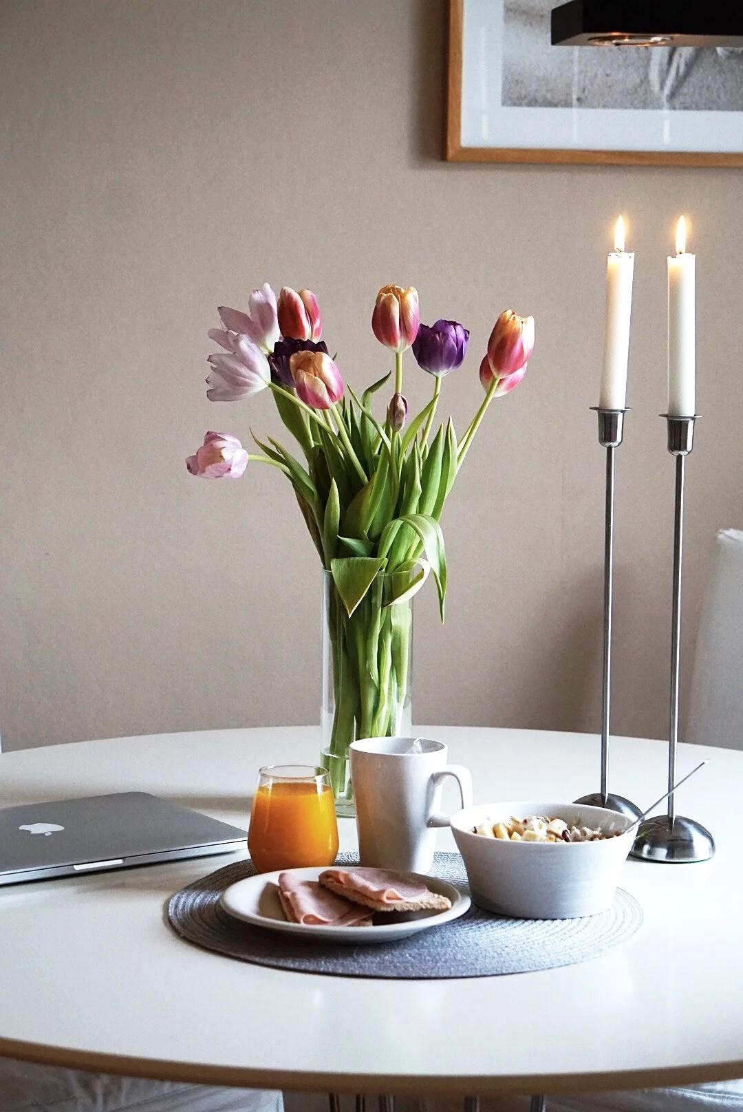 Tulpaner och återbesök