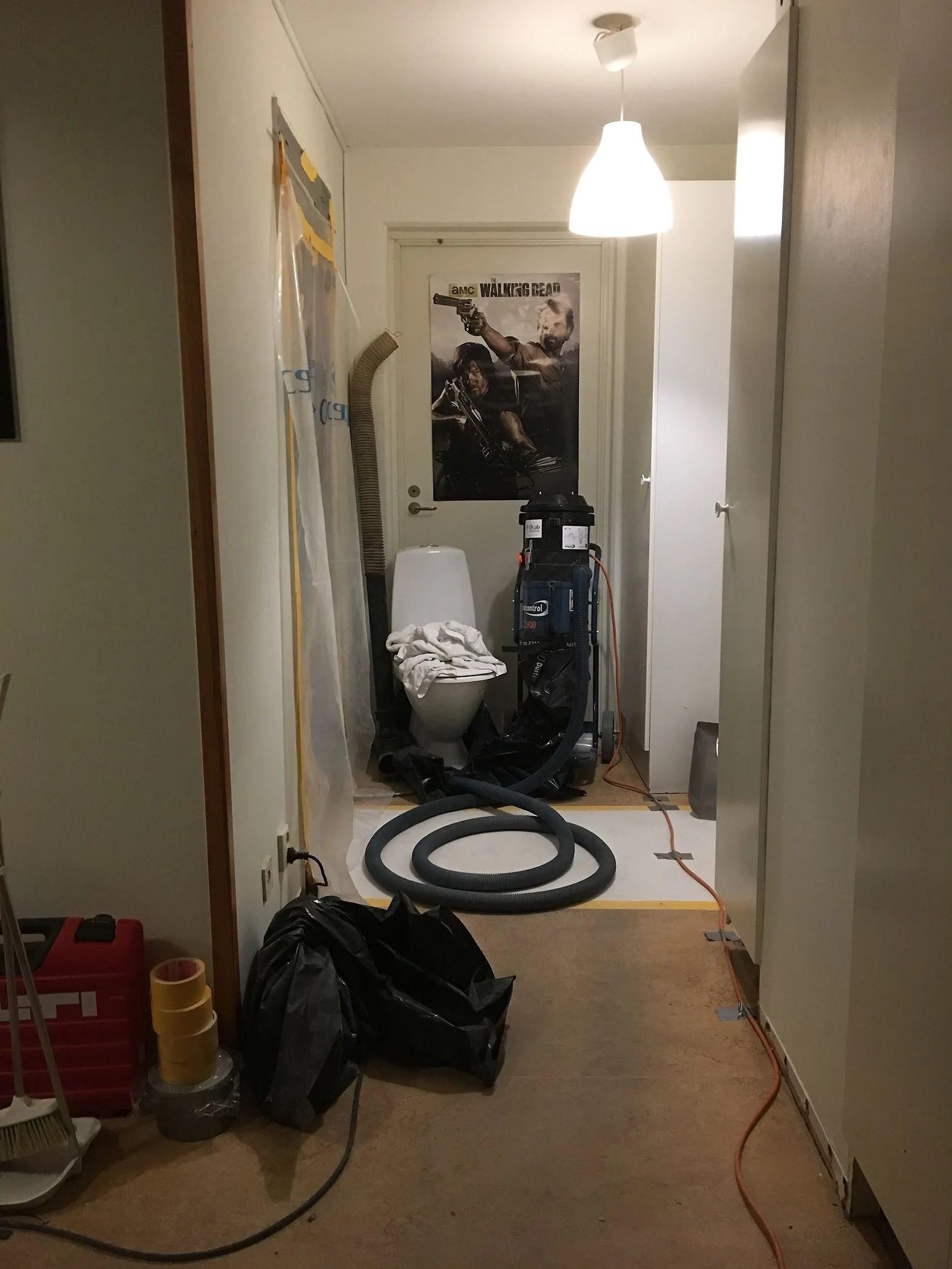 Hela Lägenheten förstörd!