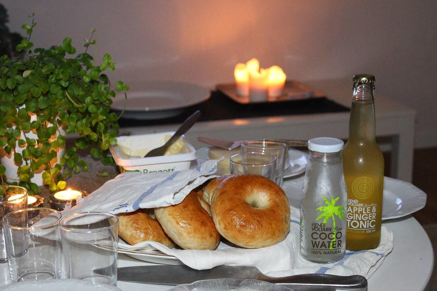 Bagelfika & fancy dryck