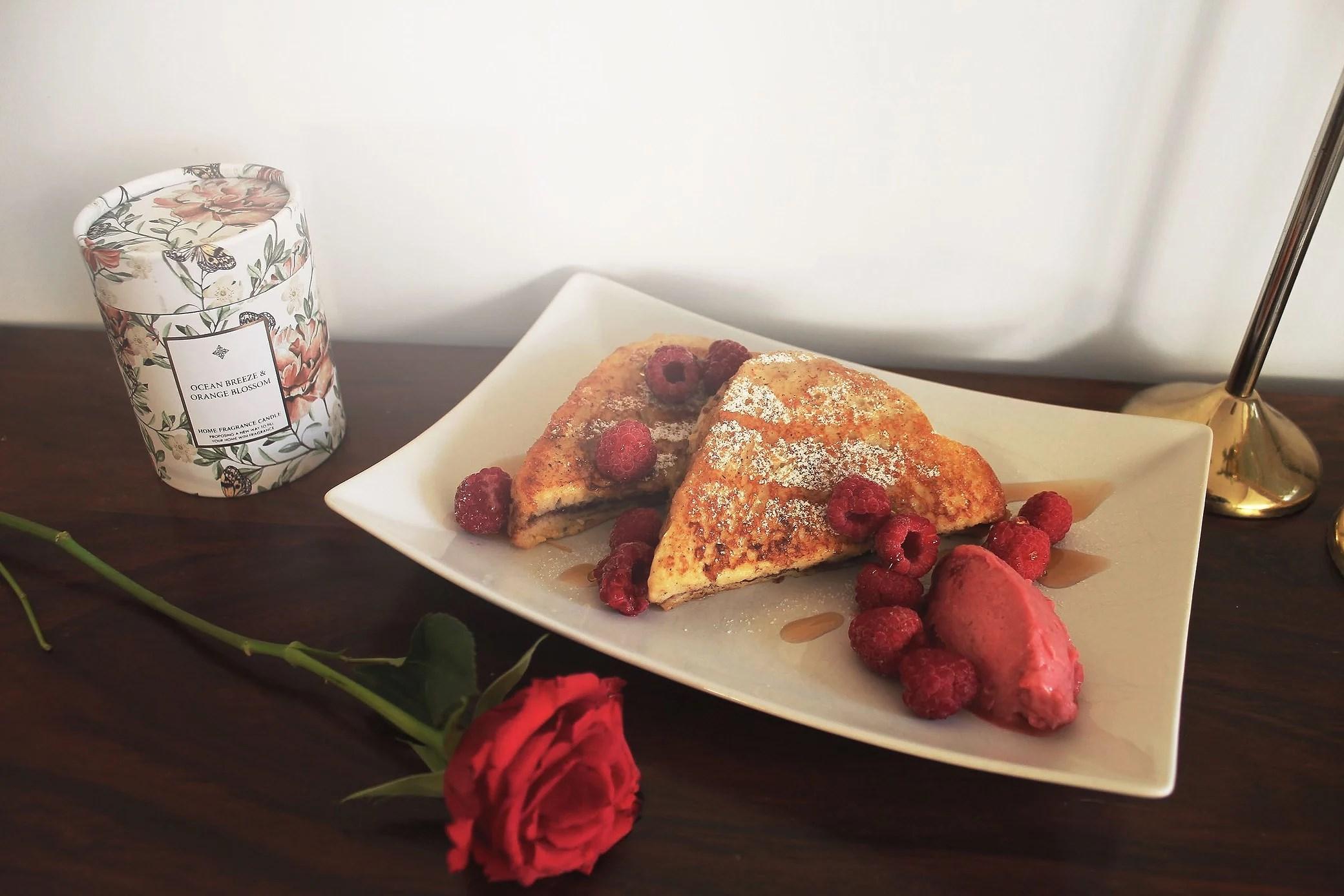 Nutella fyllda french toast + recept!