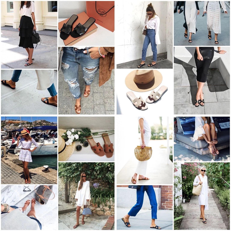 Obsession: Hermès sandals