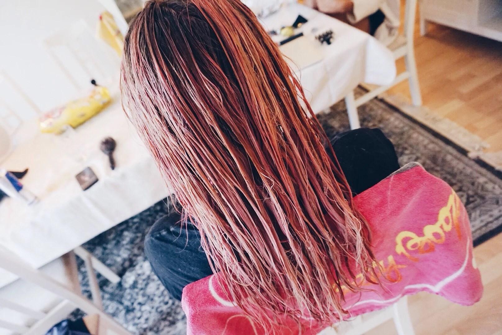 Jag har färgat håret ROSA [FÖRE & EFTER]