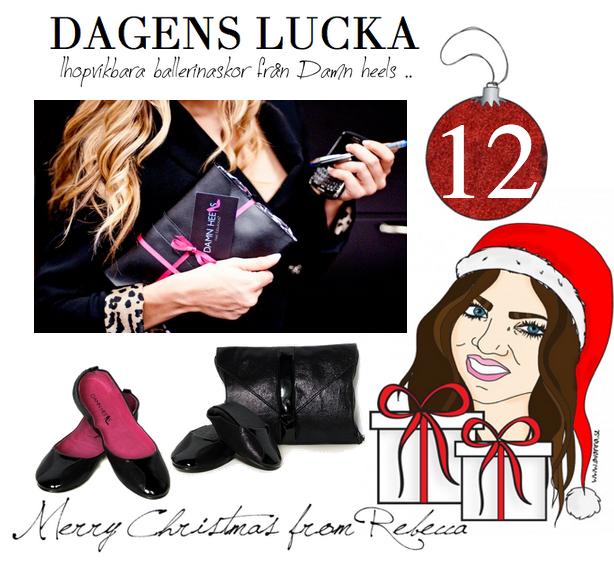 Lucka nr 12: Ihopvikbara ballerinas från Damn heels