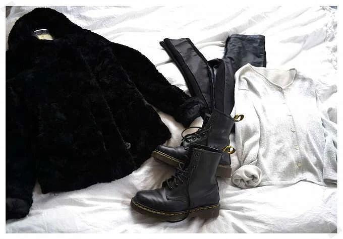 Metallic, Leather & Fur.