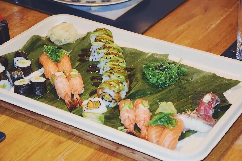 Sushi middag