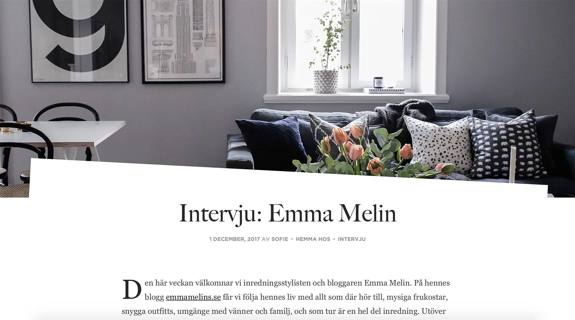 Intervju med Royal Design
