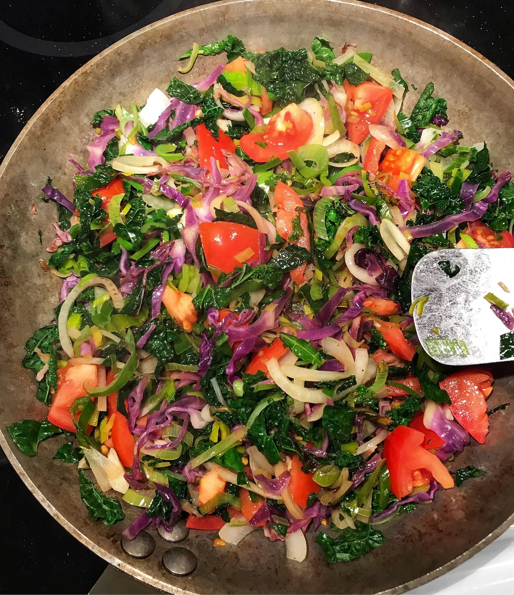 Grönsakerna styr recepten