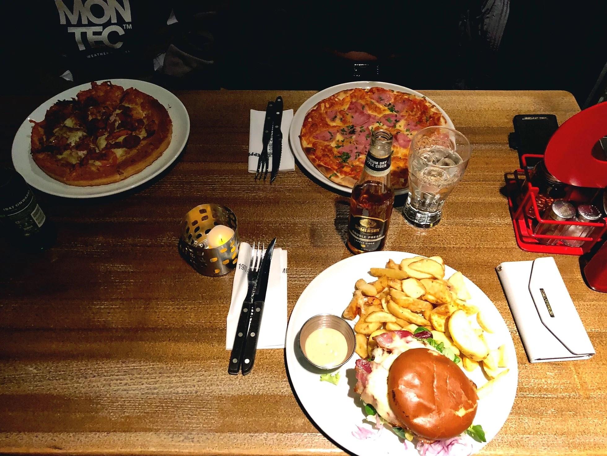 Middag med mitt fina besök