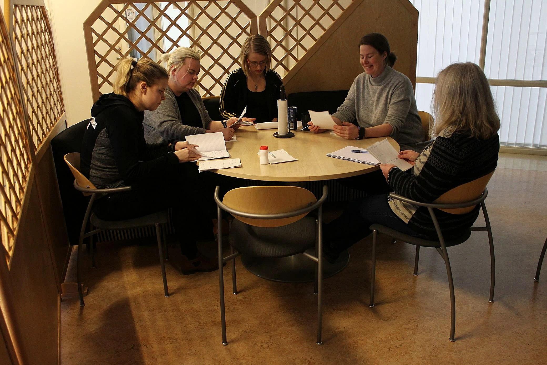 Lördagens workshop med örebloggers