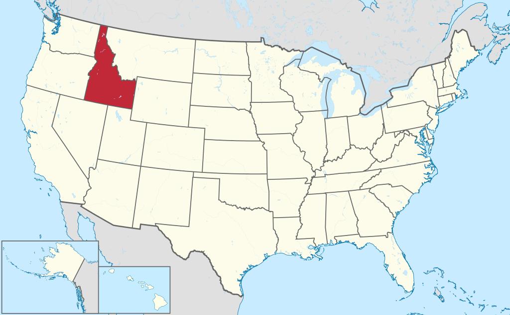 Allmänbildning: Amerikanska delstater: Washington, Idaho & Montana