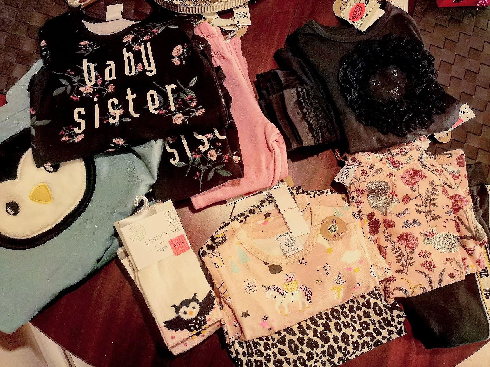 Nyinköpta babykläder