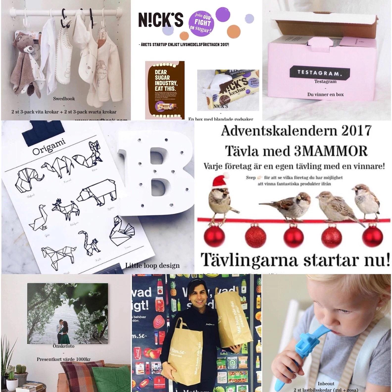 ADVENTSKALENDER 2017 HOS 3MAMMOR
