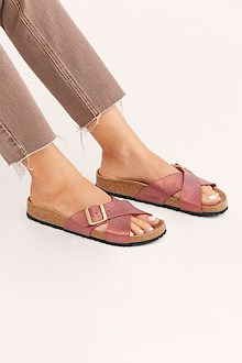 BIRKENSTOCK ROSE SLIDE