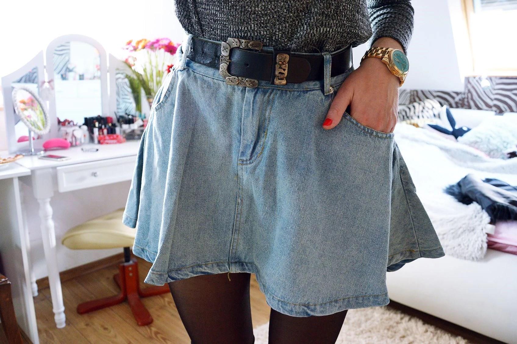 Jeansowa spódnica - hit czy kit?