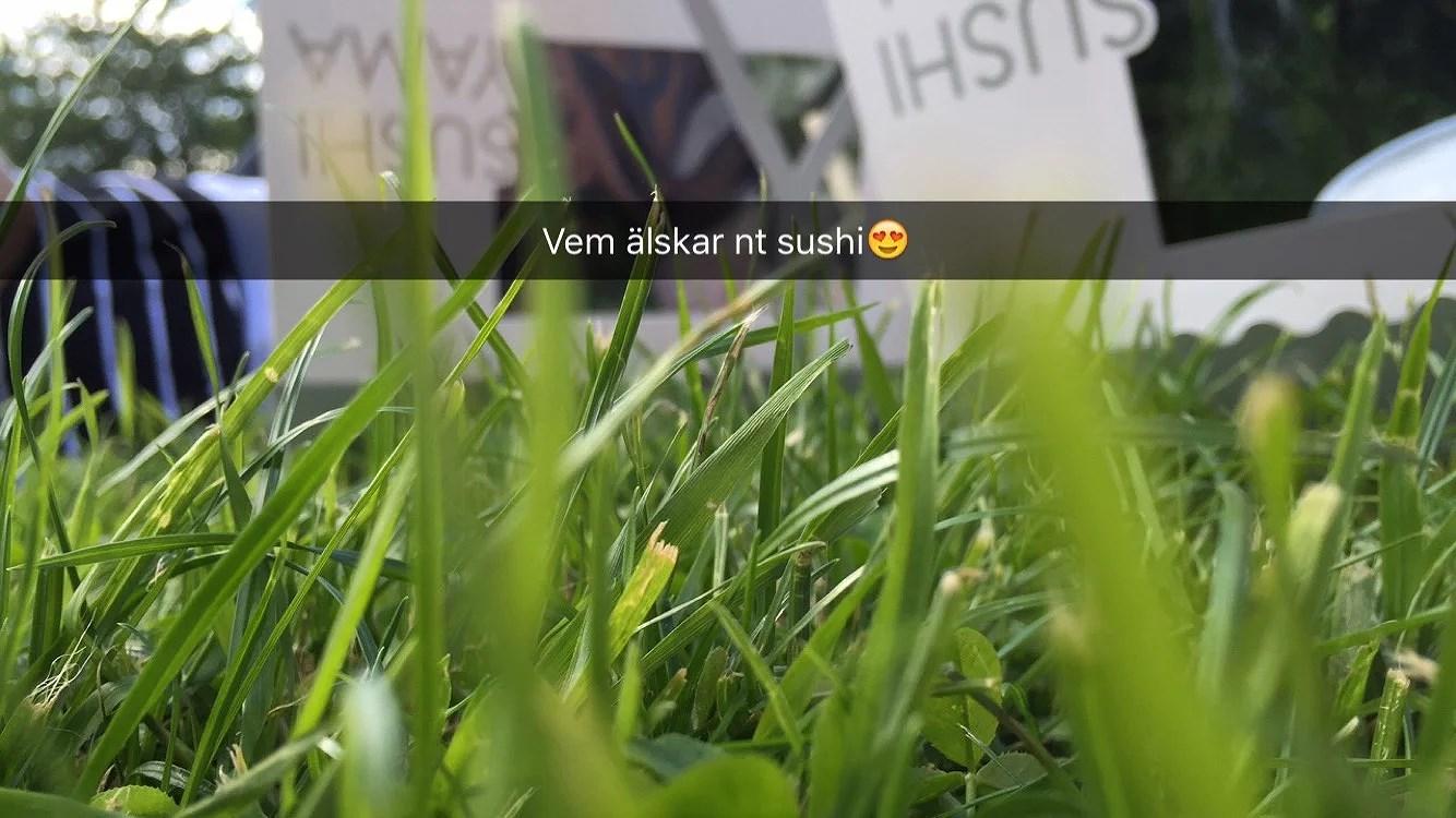 Sushi och bio<3