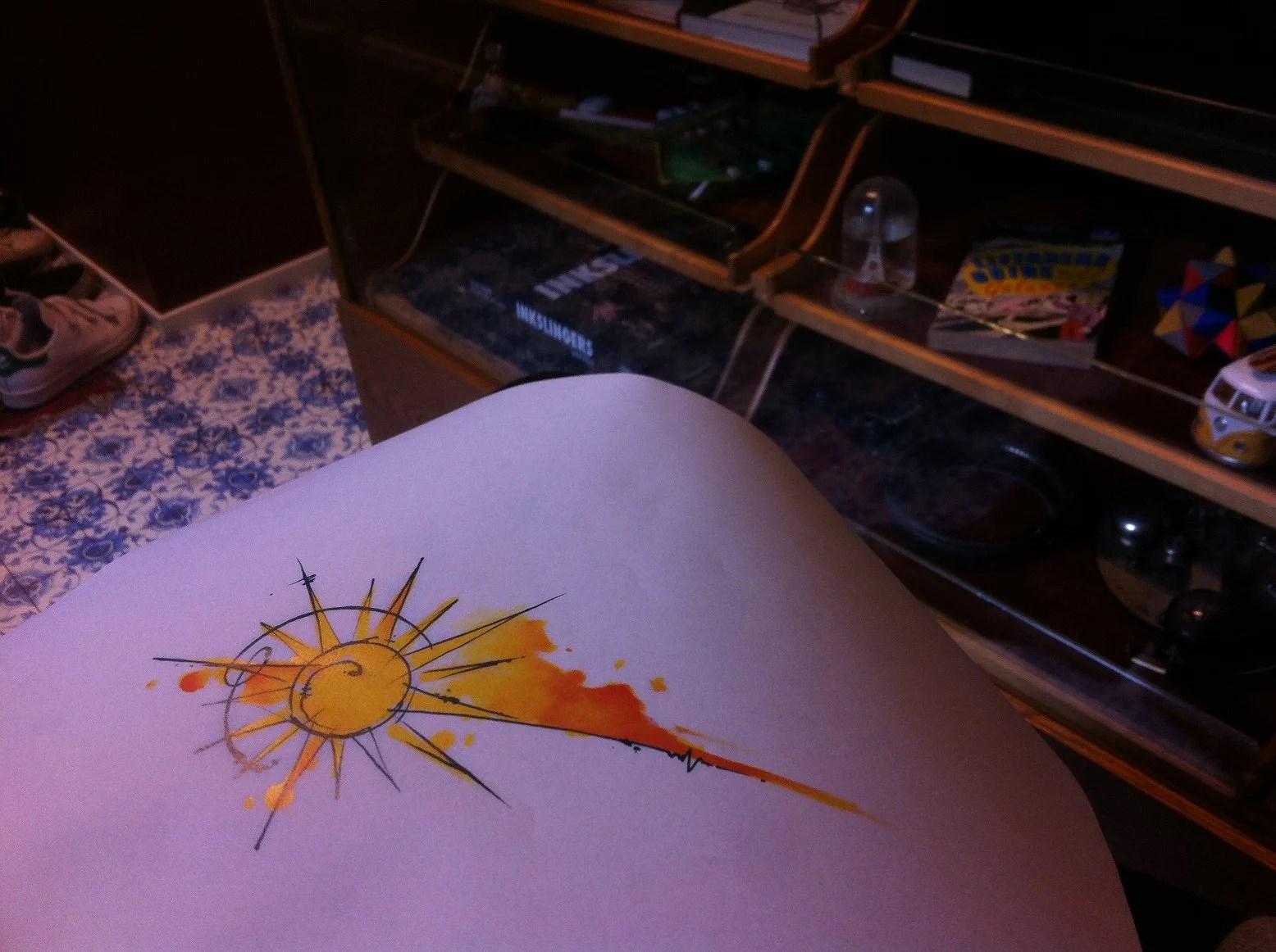 Huckleberry Tattoo