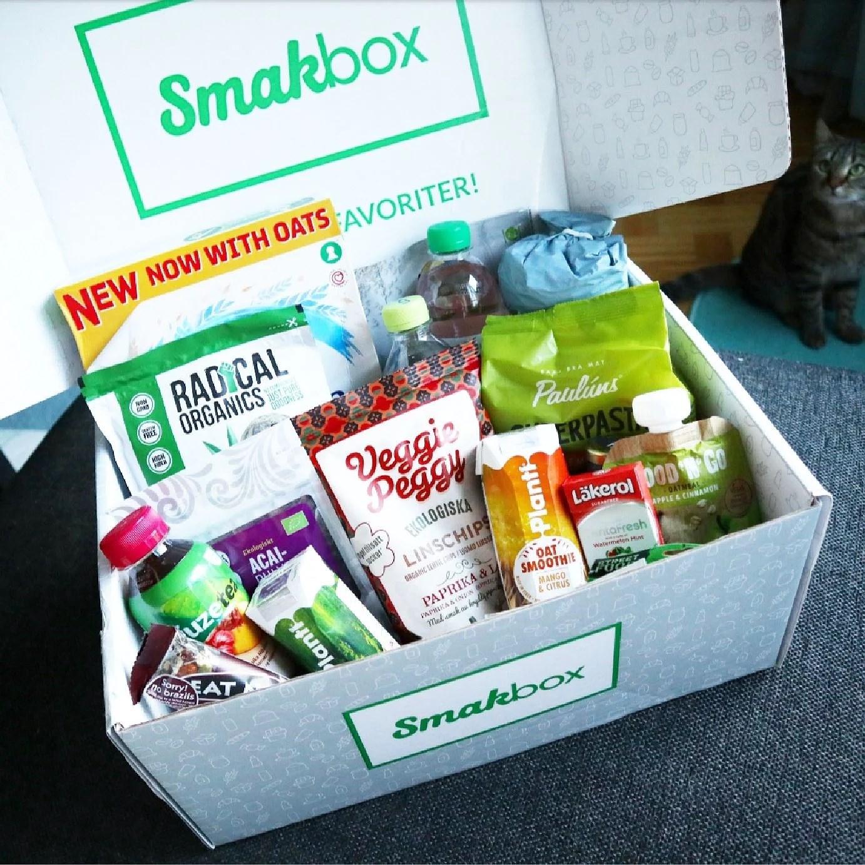 Smakbox 129 kr + våran senaste låda