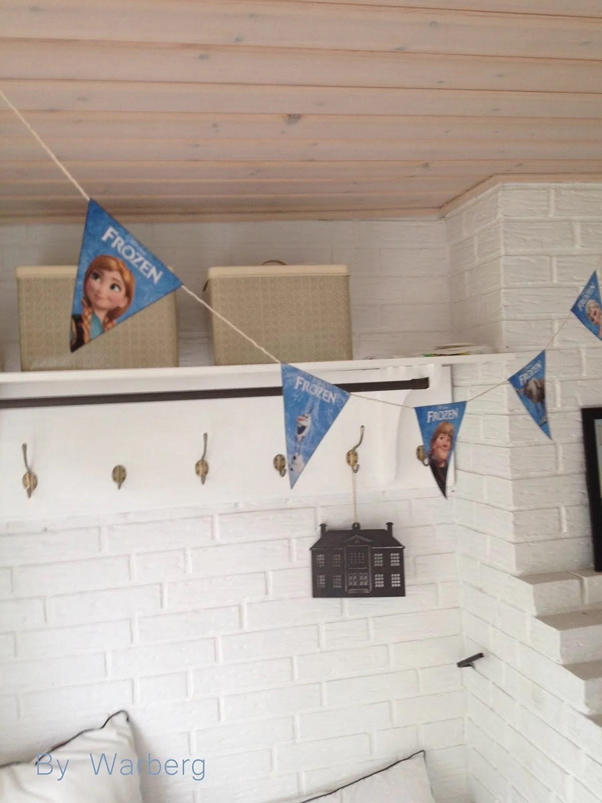 Frost fødselsdag - Anna og Elsa
