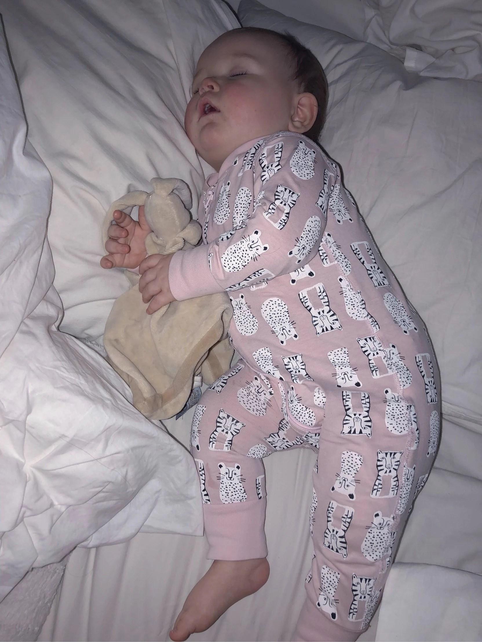 Att ta hand om ett barn med 41 graders feber