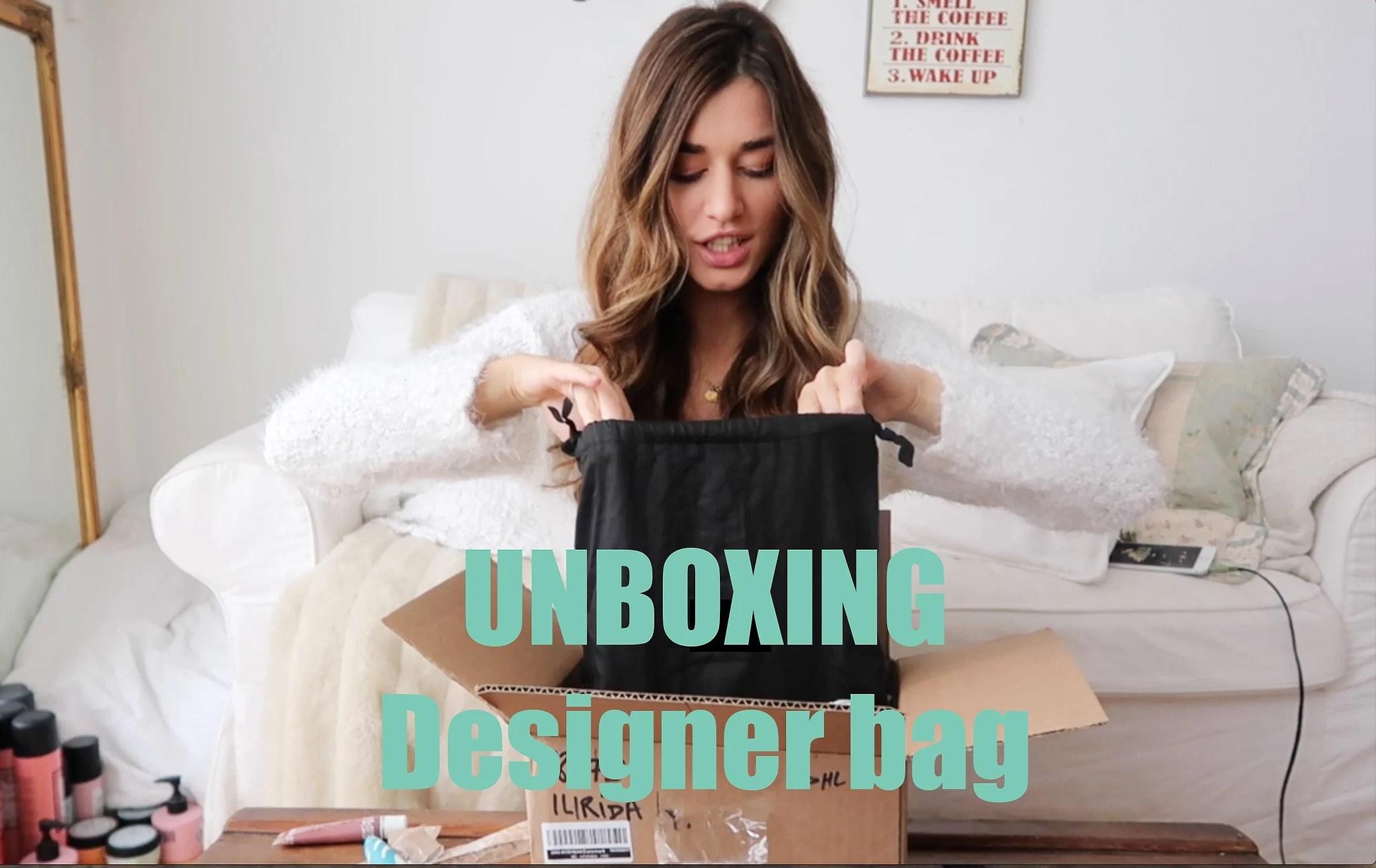 UNBOXING MY NEW DESIGNER BAG