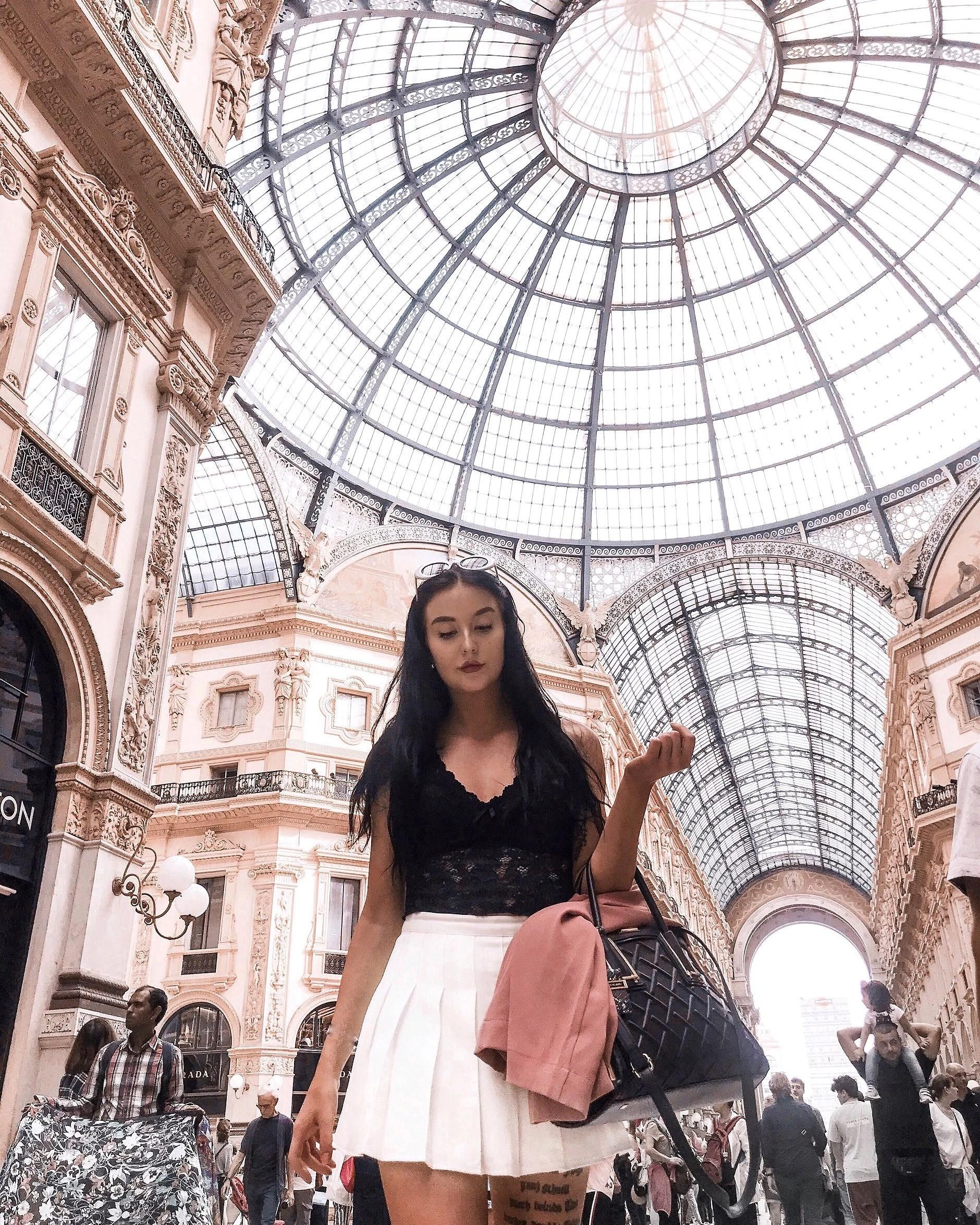 Gucci, Fendi, Versace, Milano