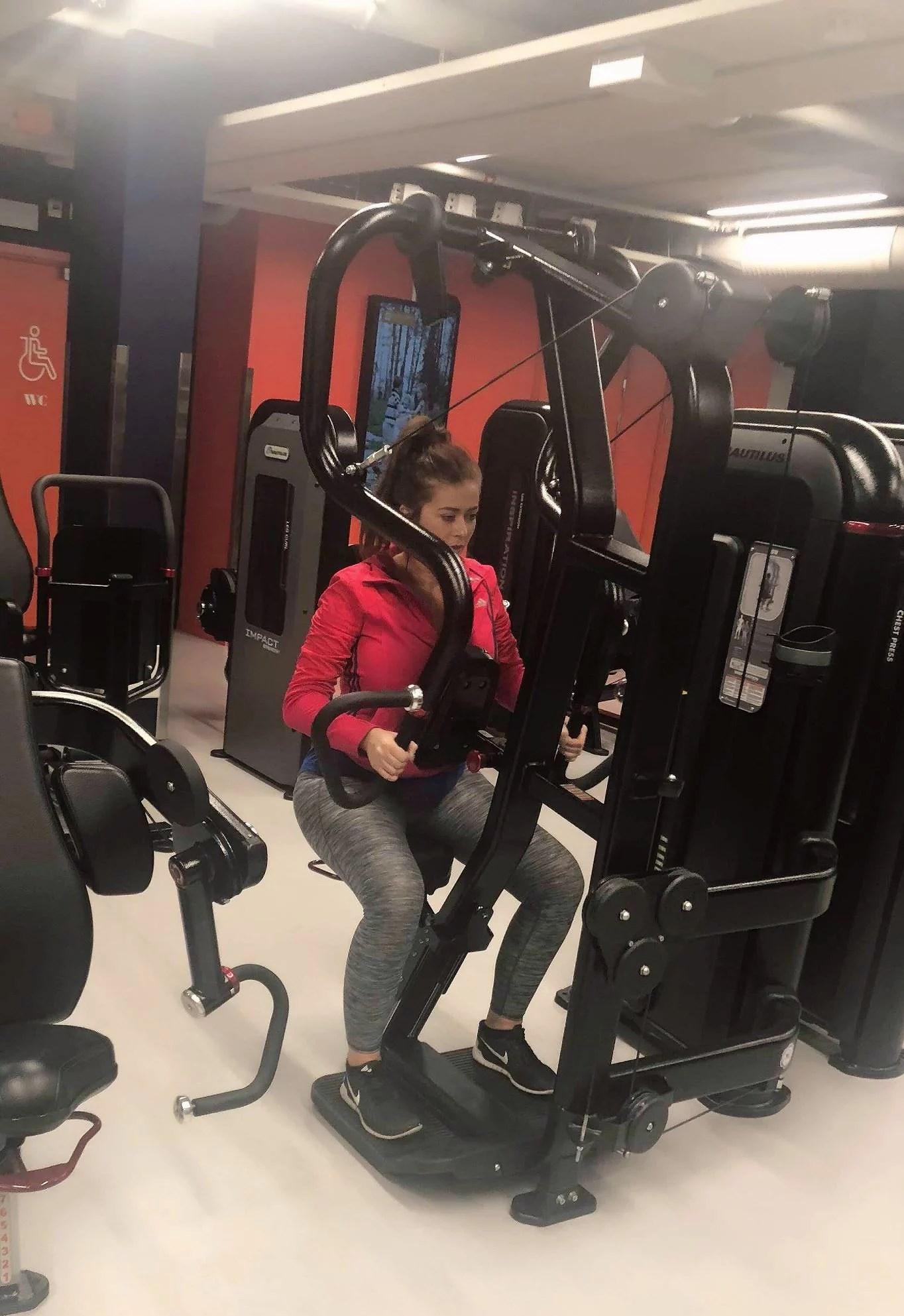 Bitch på gymmet