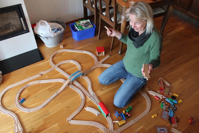 Vi bygget togbane