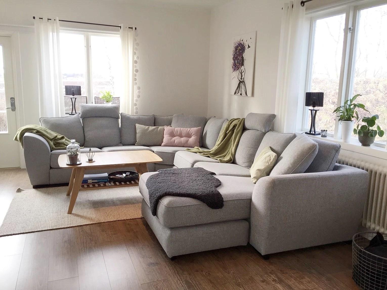 Lantliv blogg: livingroom