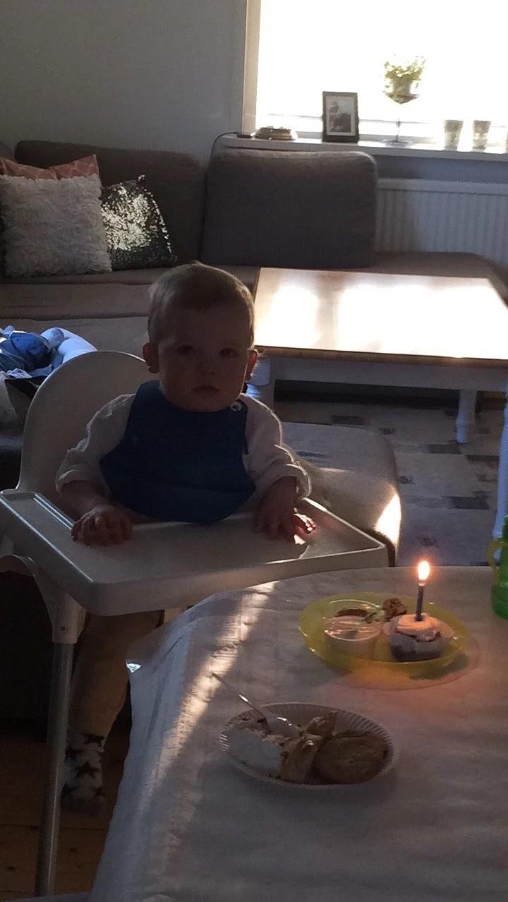 Joel 1år! :)