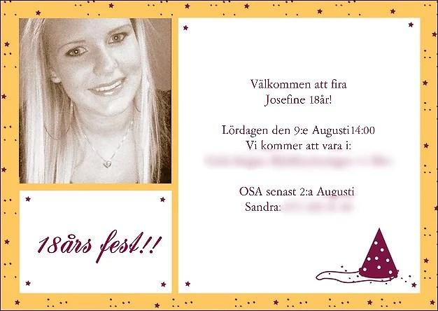 planera 18 års fest Planering inför 18års fest! | JossanSandraLarsson planera 18 års fest
